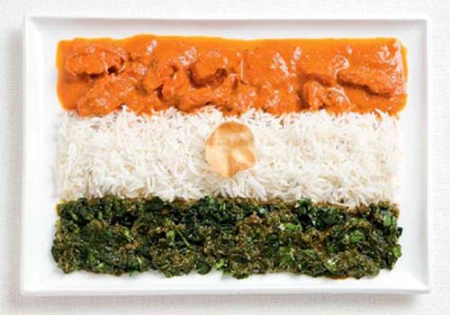 India Food Flag