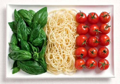 Italian Food Flag