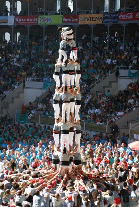 Human Tower Castellers of Catalonia Festival