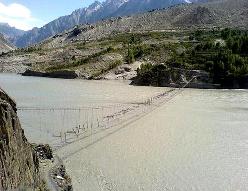 Hussaini Borit Lake Bridge