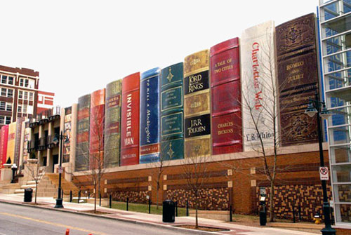 Kansas Library Book Building