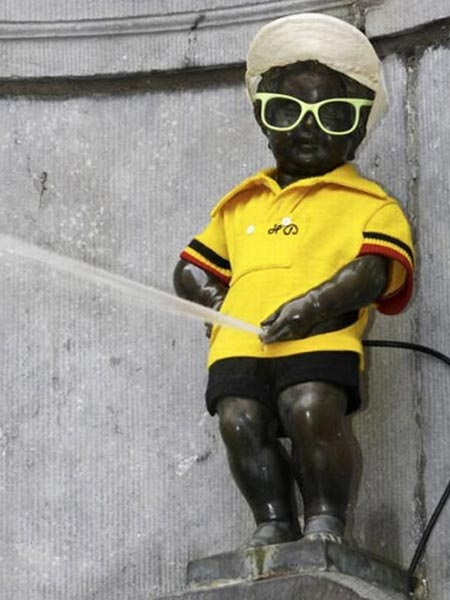 Manneken Pis Dressed Up