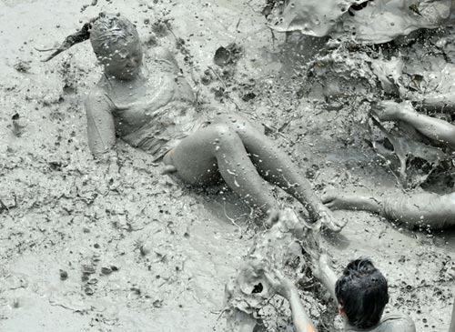 Mud Festival in South Korea