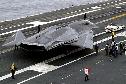 Stealth F/A-37 Talon Fighter Jet