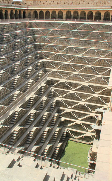 Worlds Deepest Step Well In Chand Baori, India