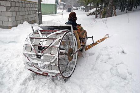 Steampunk Snowmobile 187 Funny Bizarre Amazing Pictures