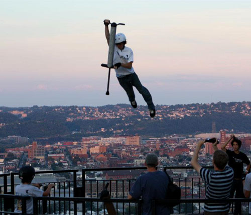 Extreme Pogo Jumping 187 Funny Bizarre Amazing Pictures